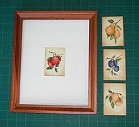 artist trading card frames