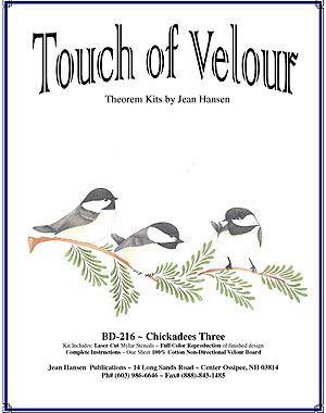 Chickadees Three