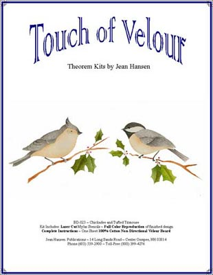 Chickadee and Tufted Titmouse BD-23