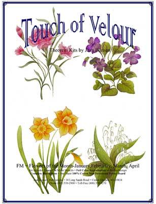 Flower of The Month - Jan. Feb. Mar. Apr.