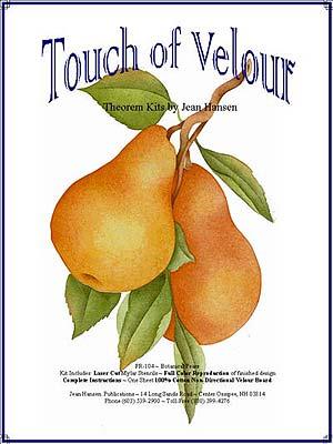 Botanical Pears FR-104