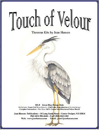 BD-184 Great Blue Heron Male