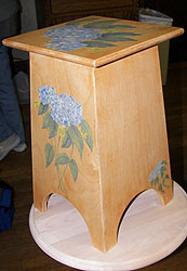 Hydrangeas Table
