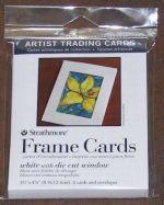 Frame Cards 2.5 x  3.5- 6pkg