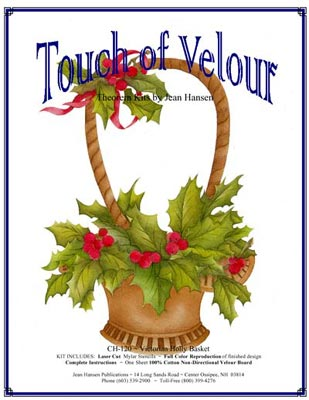 CH-120 Victorian Holly Basket