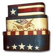 Eagle Flag Paper Mache