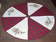 Winterberry Tree Skirt II
