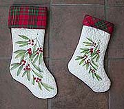 Quilted Xmas Stockings