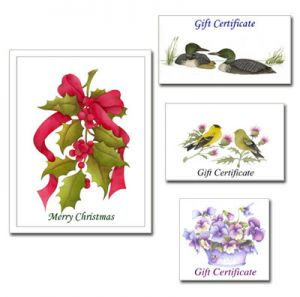 Paper Gift Certificate