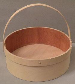 Large Round Open Basket