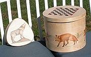 Red Fox & Wolf  Box